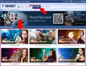 sbobet-casino-live